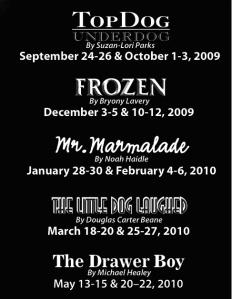 2009-2010 Season at Actors' Theatre